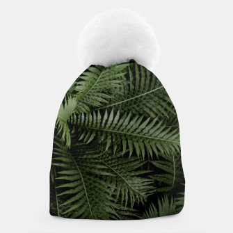 Thumbnail image of Tropical Leaves 02 Beanie, Live Heroes
