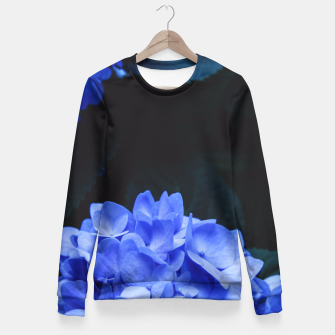 Thumbnail image of Hydrangeas Fitted Waist Sweater, Live Heroes