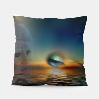 Thumbnail image of fashion surreal -2- Pillow, Live Heroes