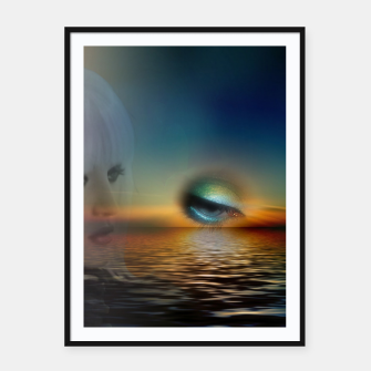 Thumbnail image of fashion surreal -2- Framed poster, Live Heroes