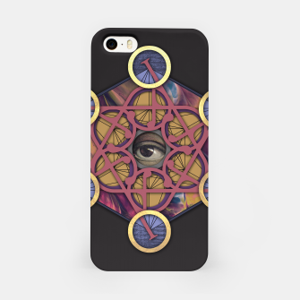 Thumbnail image of METATRON CUBE iPhone Case, Live Heroes