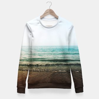 Thumbnail image of Wave Dream Fitted Waist Sweater, Live Heroes