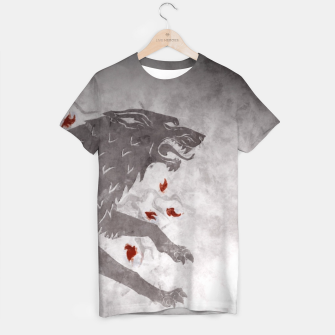 Miniatur House Stark - Game Of Thrones T-shirt, Live Heroes