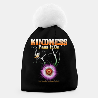 Thumbnail image of KINDNESS - Pass It On Starburst Heart Beanie, Live Heroes