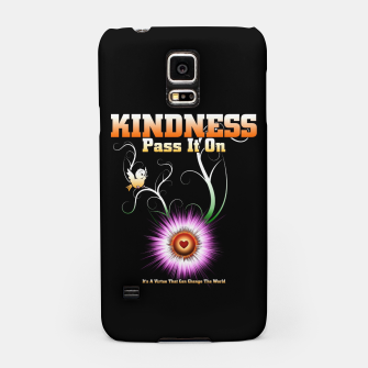 Thumbnail image of KINDNESS - Pass It On Starburst Heart Samsung Case, Live Heroes