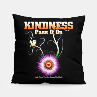 Thumbnail image of KINDNESS - Pass It On Starburst Heart Pillow, Live Heroes
