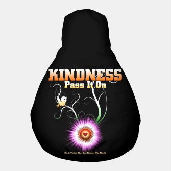 Thumbnail image of KINDNESS - Pass It On Starburst Heart Pouf, Live Heroes