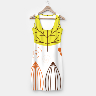 Thumbnail image of Simple artistic handdrawn Dress with Leaves, Live Heroes