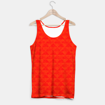 Miniaturka Red simple print Tank Top, Live Heroes