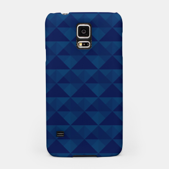 Thumbnail image of Geometrical navy pattern Samsung Case, Live Heroes