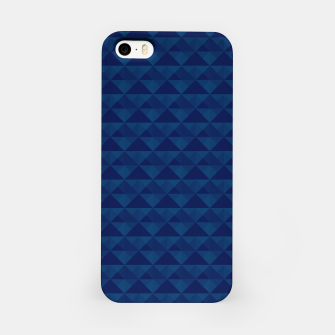 Thumbnail image of Geometrical navy pattern iPhone Case, Live Heroes