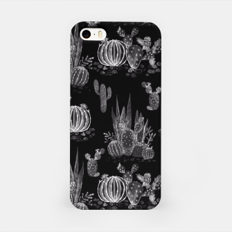 Thumbnail image of Watercolor cactuses print iPhone Case, Live Heroes