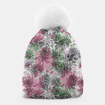 Thumbnail image of Abstract floral print Beanie, Live Heroes