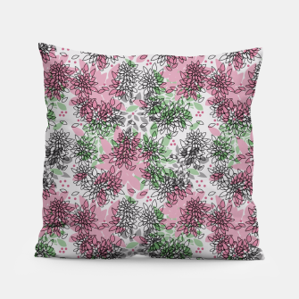 Miniaturka Abstract floral print Pillow, Live Heroes