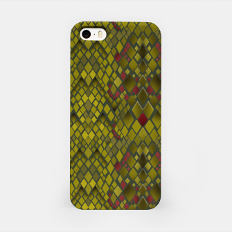 Thumbnail image of Snake skin print pattern iPhone Case, Live Heroes