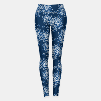 Thumbnail image of Abstract floral print Leggings, Live Heroes