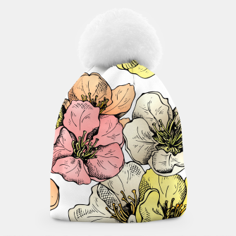 Thumbnail image of Colorful Poppies Beanie, Live Heroes