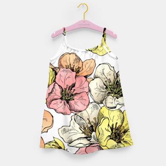 Thumbnail image of Colorful Poppies Girl's Dress, Live Heroes