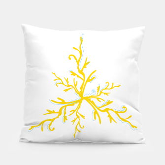Thumbnail image of Designers artistic Pillow : GOLD CORAL 2, Live Heroes