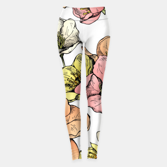 Thumbnail image of Colorful Poppies Leggings, Live Heroes
