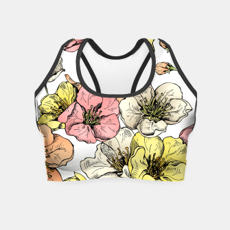 Imagen en miniatura de Colorful Poppies Crop Top, Live Heroes