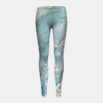 Thumbnail image of Observe & Let Go Girl's Leggings, Live Heroes