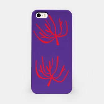 Thumbnail image of iPhone Case : RED WILD CORALS PURPLE, Live Heroes