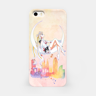 Thumbnail image of Sailor Moon Romantic Watercolor iPhone Case, Live Heroes