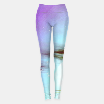 Thumbnail image of Pastel moon  Leggings, Live Heroes