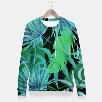 Thumbnail image of Night Life Fitted Waist Sweater, Live Heroes