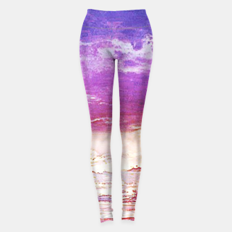Thumbnail image of Sunset skies Leggings, Live Heroes