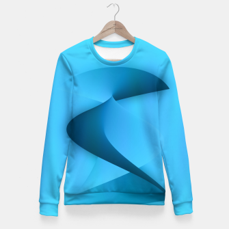 Thumbnail image of rising energy Fitted Waist Sweater, Live Heroes