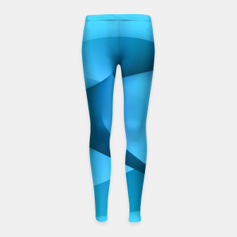 Thumbnail image of rising energy Girl's Leggings, Live Heroes