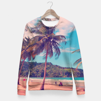 Thumbnail image of Weekend Vibes Fitted Waist Sweater, Live Heroes