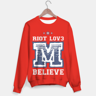 Thumbnail image of BELIEVE Sudadera, Live Heroes