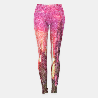 Thumbnail image of Alteran sunset Leggings, Live Heroes