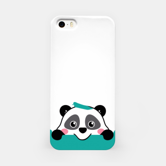 Thumbnail image of panda iPhone Case, Live Heroes