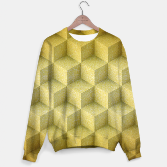 Thumbnail image of Golden cubes Sweater, Live Heroes