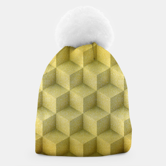 Thumbnail image of Golden cubes Beanie, Live Heroes