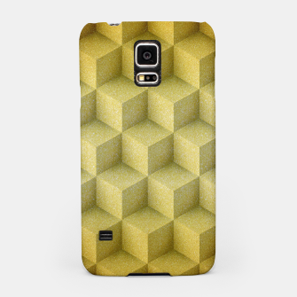 Thumbnail image of Golden cubes Samsung Case, Live Heroes