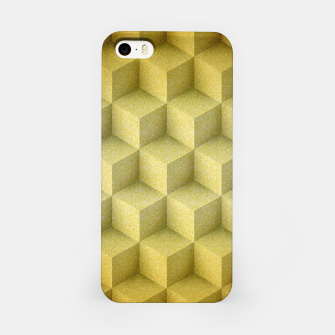 Thumbnail image of Golden cubes iPhone Case, Live Heroes