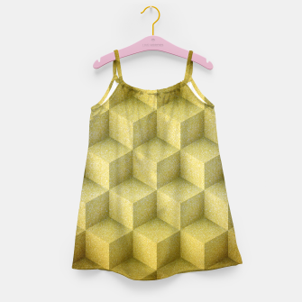 Thumbnail image of Golden cubes Girl's Dress, Live Heroes