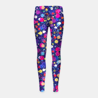 Thumbnail image of Pattern Girl's Leggings, Live Heroes