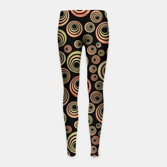 Thumbnail image of Groovy 60's Girl's Leggings, Live Heroes