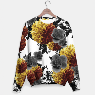 Thumbnail image of CAFFEINE FLOWERS Sweater, Live Heroes
