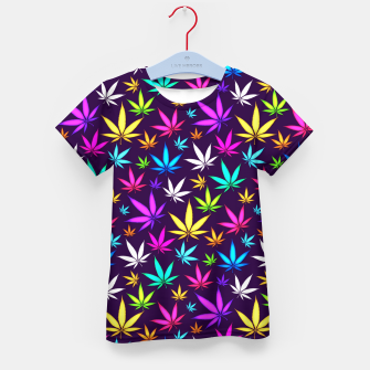 Thumbnail image of Colorful HERB Pattern Kid's T-shirt, Live Heroes