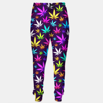 Thumbnail image of Colorful HERB Pattern Sweatpants, Live Heroes
