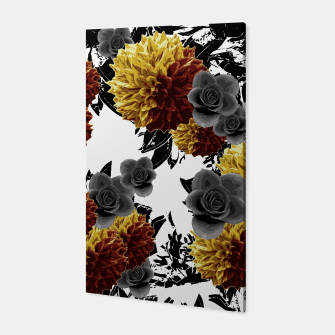 Thumbnail image of CAFFEINE FLOWERS Canvas, Live Heroes
