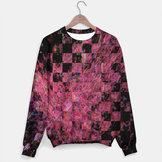 Thumbnail image of Fractal with abstract heart Sweater, Live Heroes