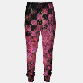 Thumbnail image of Fractal with abstract heart Sweatpants, Live Heroes